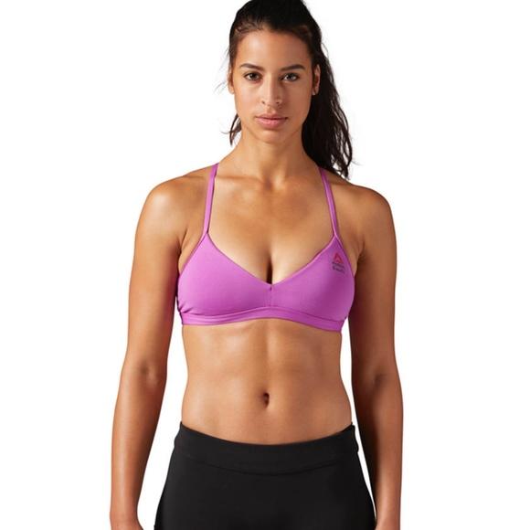 36a4ad427a57d Reebok Crossfit Micro Sports Bra (Purple)